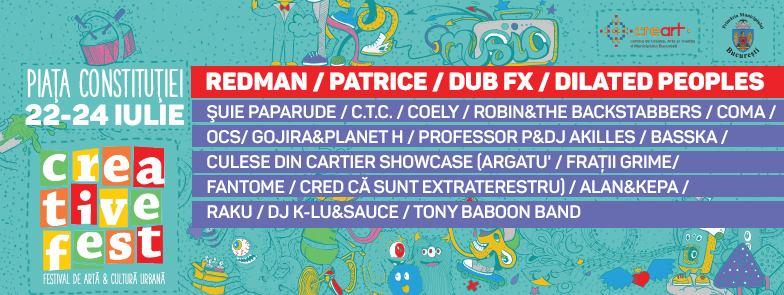 DUB FX @ Creative Fest | 22-24 Iulie 2016