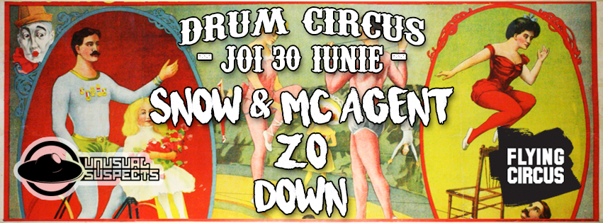 30 IUN ✘ Drum Circus at Flying Circus