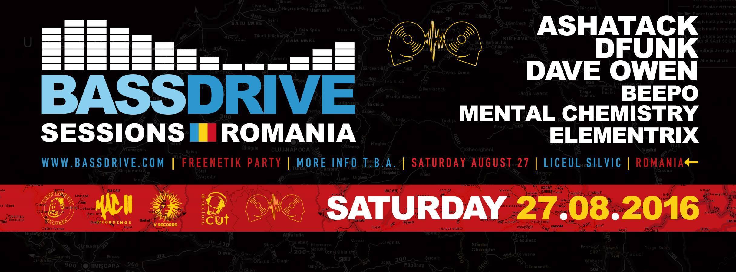 Bassdrive & Freenetik Party