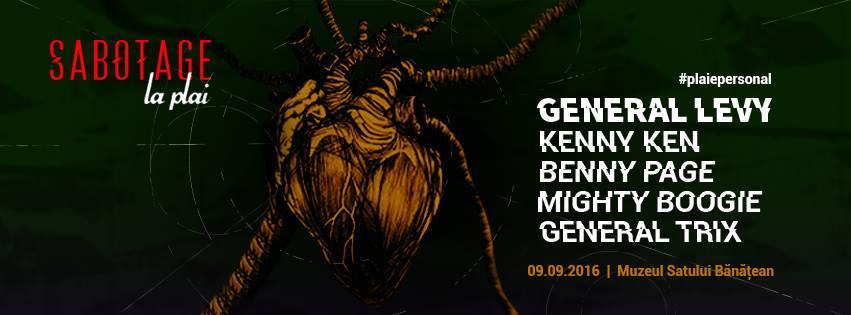 Sabotage la Plai: General Levy, Kenny Ken, Benny Page, Mighty Boogie & General Trix
