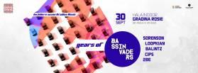 3 Years of Bass Invaders /// Hala Indoor Gradina Rosie