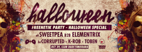 Freenetik Halloween PARTY