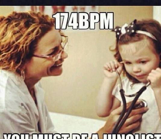 Drum and bass funny
