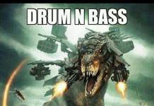 Drum and bass more or less